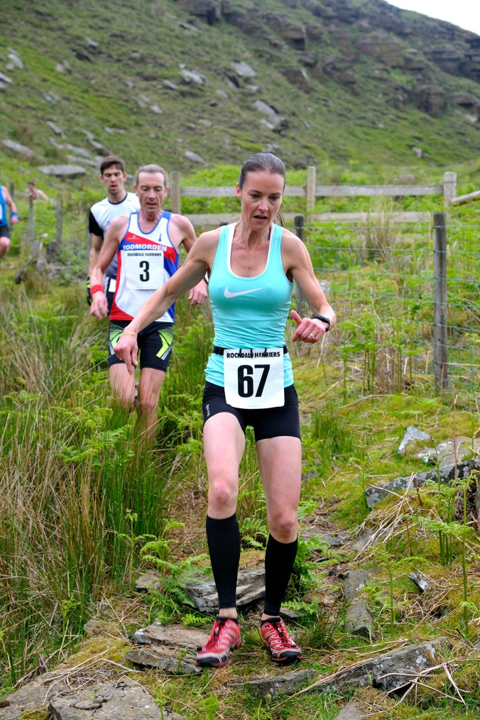 Knowl Hill Fell race Norden Rochdale