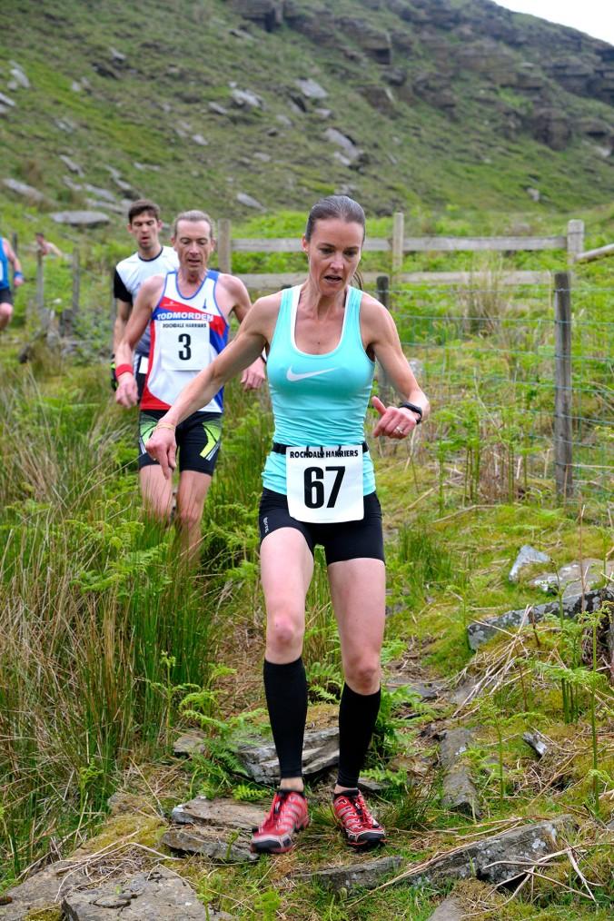 Knowl Hill Fell race Norden Rochdale